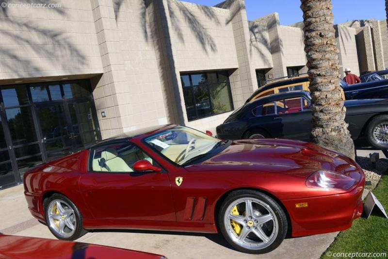 Chassis Zffgt61a650145715 2005 Ferrari 575m Superamerica Chassis