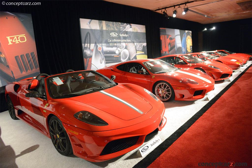 Auction Results And Sales Data For 2009 Ferrari Scuderia Spider 16m