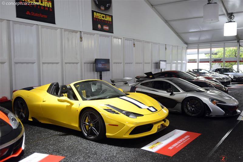 Chassis Zff78vha1f0212840 2015 Ferrari 458 Speciale Chassis Information