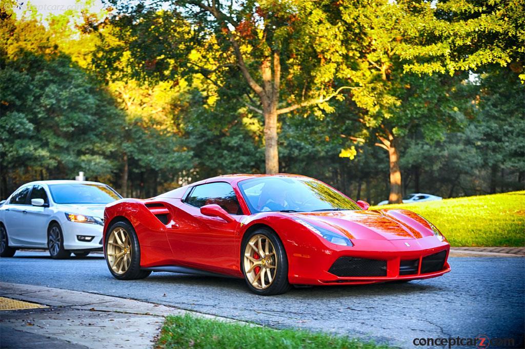 2017 Ferrari 488 Spider News And Information Com