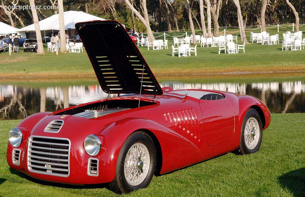 1947 ferrari 125 s pictures history value research news. Black Bedroom Furniture Sets. Home Design Ideas