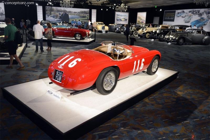 Chassis 0058M, engine 0058 M 1950 Ferrari 166MM chassis