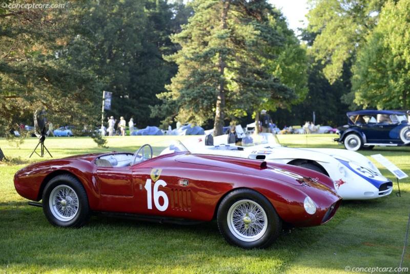 1950 Ferrari 275s 340 America Chassis 0030mt Engine 0030mt