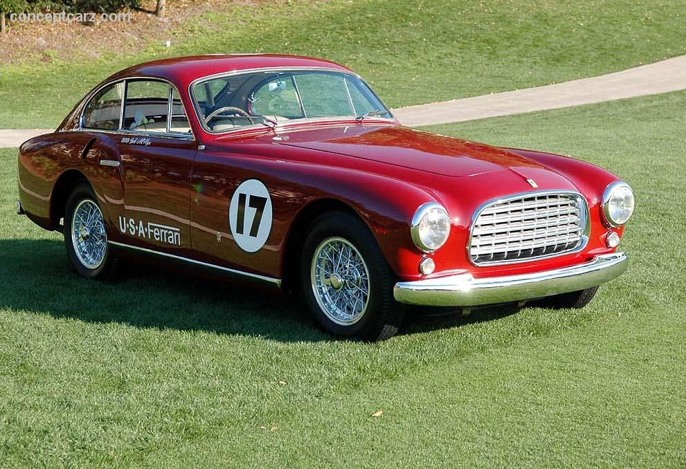 1951 Ferrari 340 America Image Chassis Number 0150 A