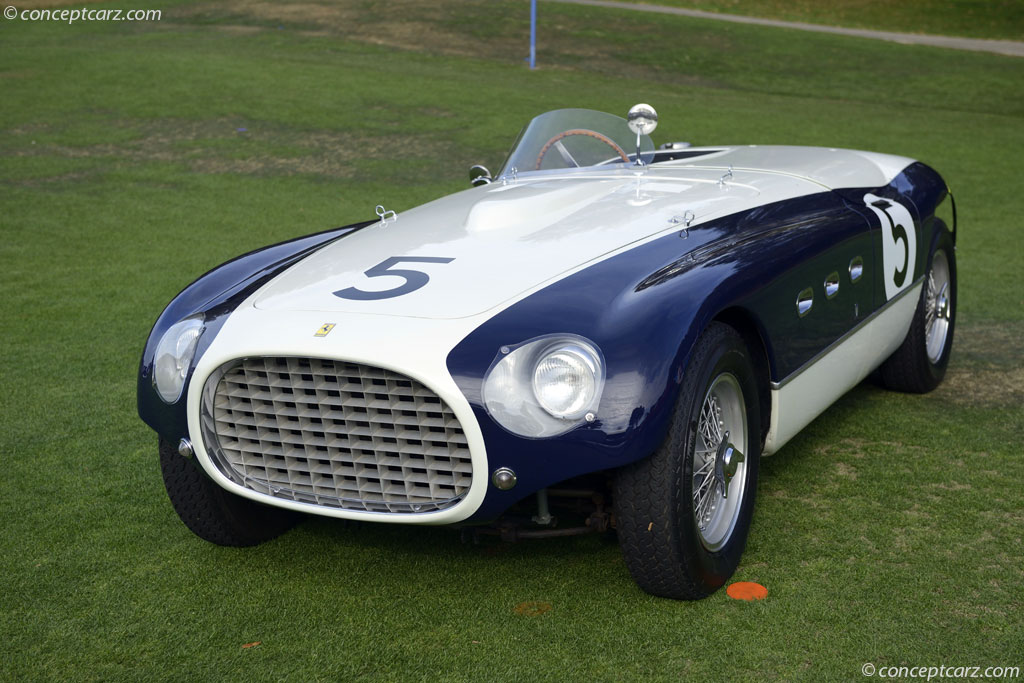 Auction Results and Sales Data for 1953 Ferrari 340 MM