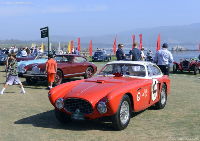 1952 Ferrari 340 Mexico Chassis 0222 At