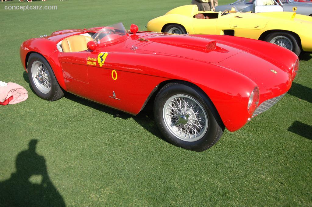 1954 ferrari 500 mondial at the amelia island concours d. Black Bedroom Furniture Sets. Home Design Ideas
