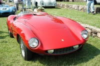 1955 Ferrari 750 Monza.  Chassis number 0502M