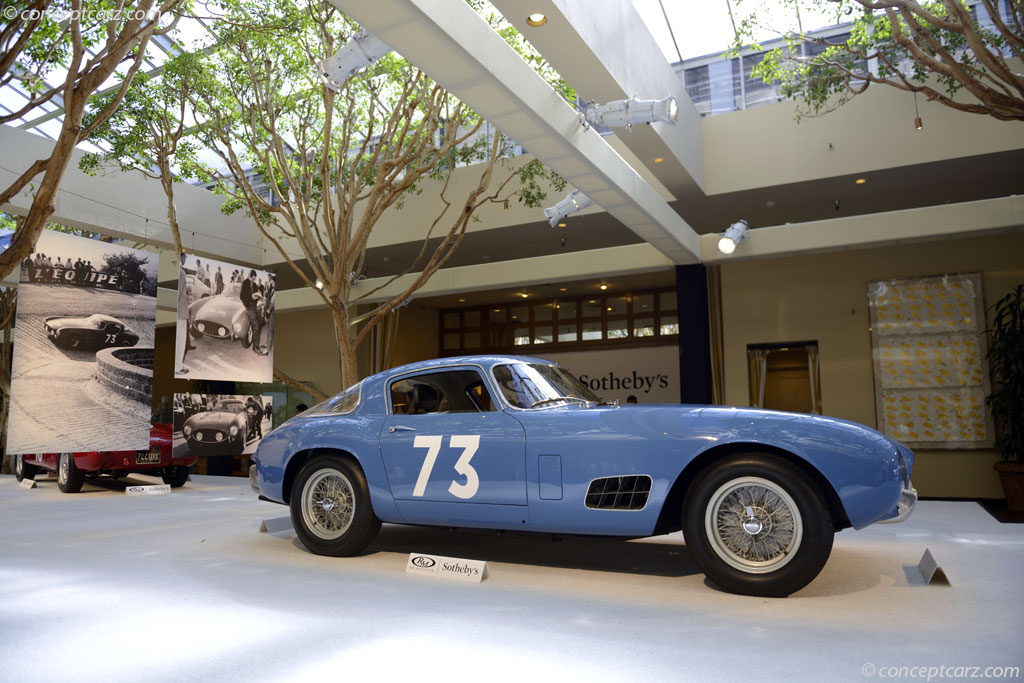 1956 Ferrari 250 Gt Tdf Image Chassis Number 0557gt