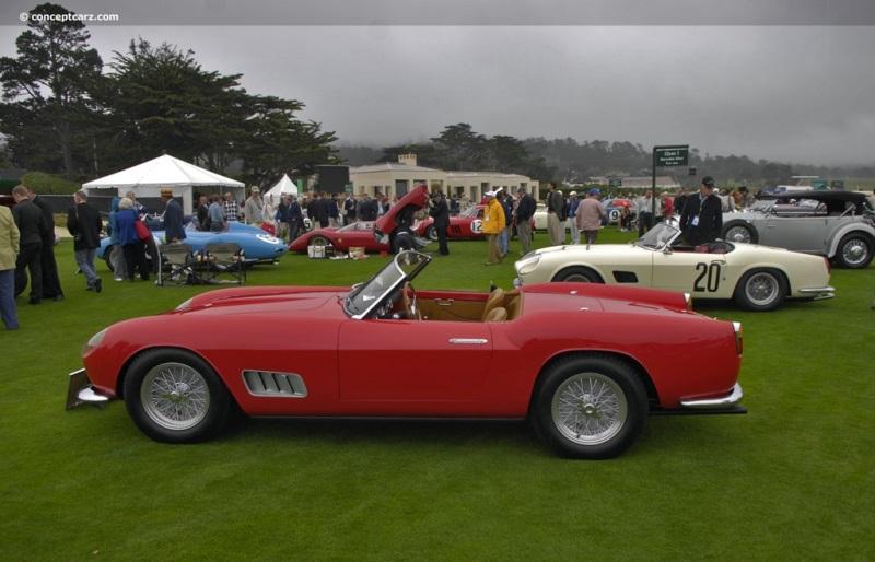1957 Ferrari 250 GT California Image. Chassis number 0769 ...
