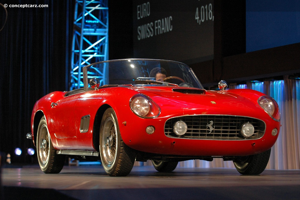 Auction Results And Sales Data For 1960 Ferrari 250 Gt California