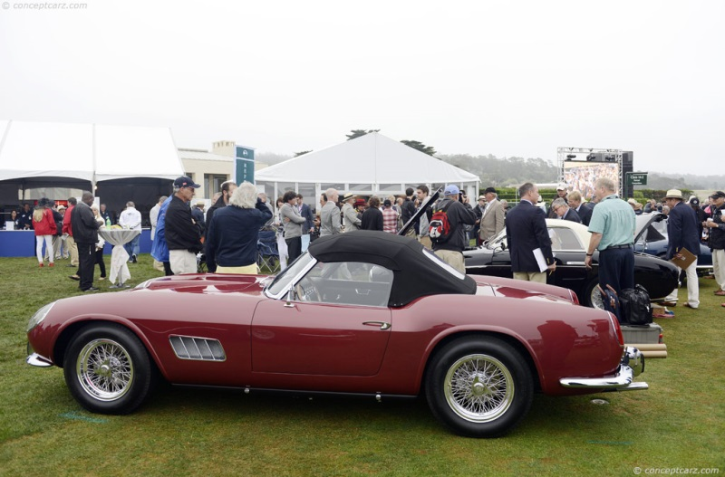 1960 Ferrari 250 Gt California Image Chassis Number 1639 Gt Photo
