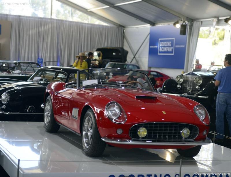 Chis 3095 GT, engine 3095. 1961 Ferrari 250 GT California chis ...