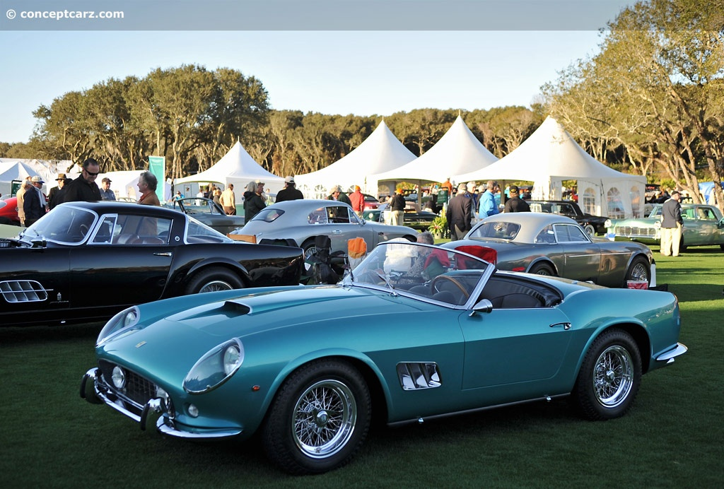 1961 Ferrari 250 Gt California >> 1961 Ferrari 250 GT California Image. Chassis number 3099 GT. Photo 34 of 106