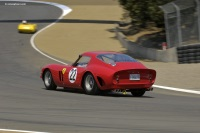 1962 Ferrari 250 GTO.  Chassis number 3943GT