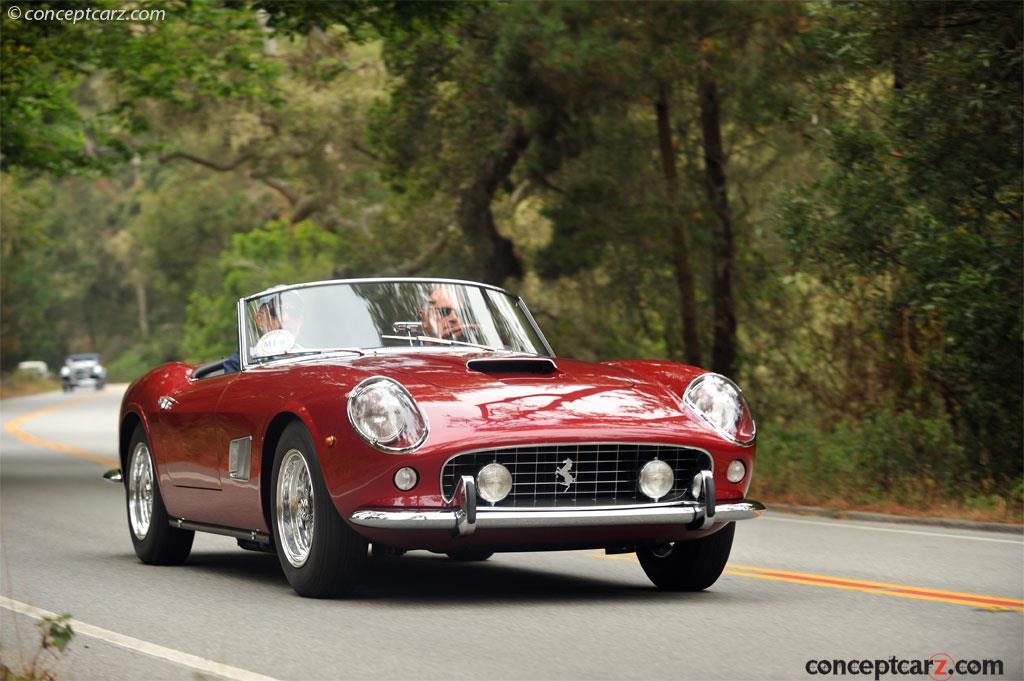 1962 Ferrari 250 GT California Image. Chassis number ...