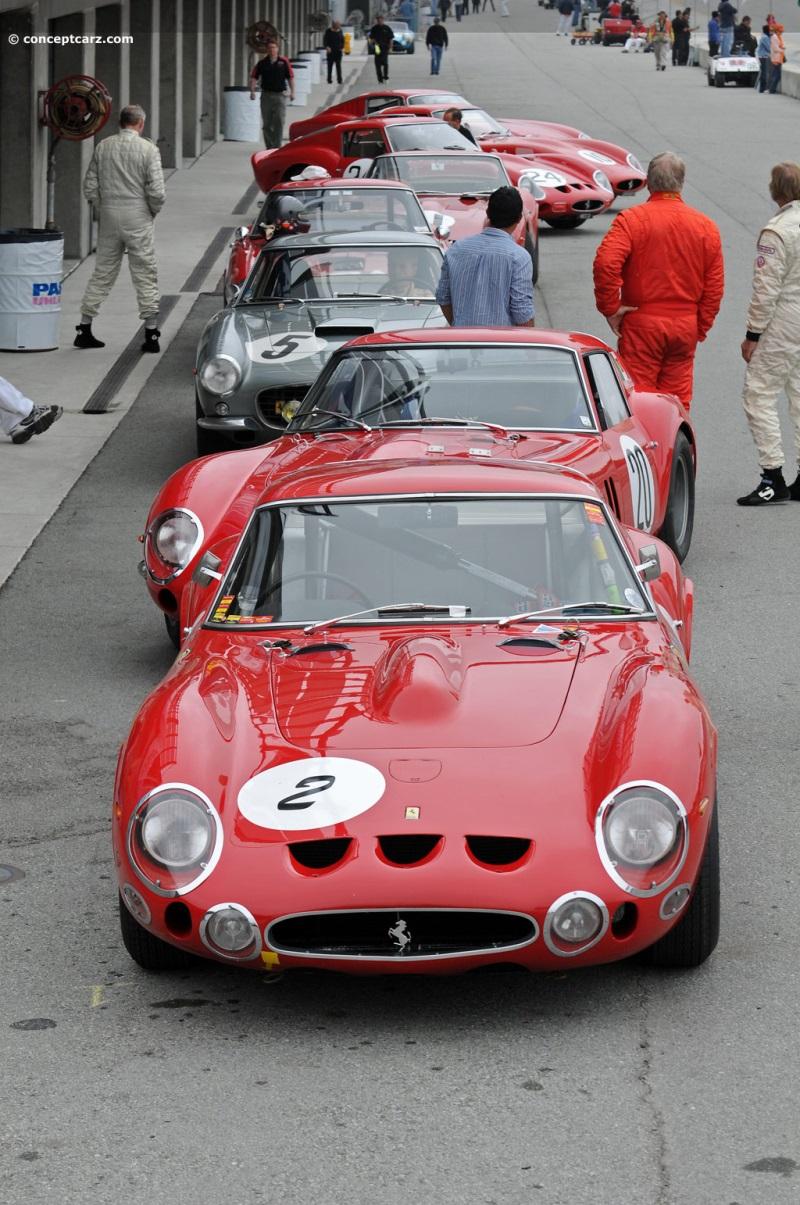 1963 ferrari 250 gto image. chassis number 4561sa