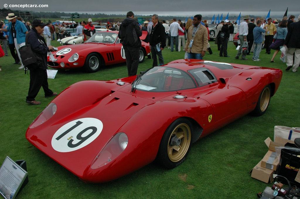 1969 Ferrari 312 P Conceptcarz Com