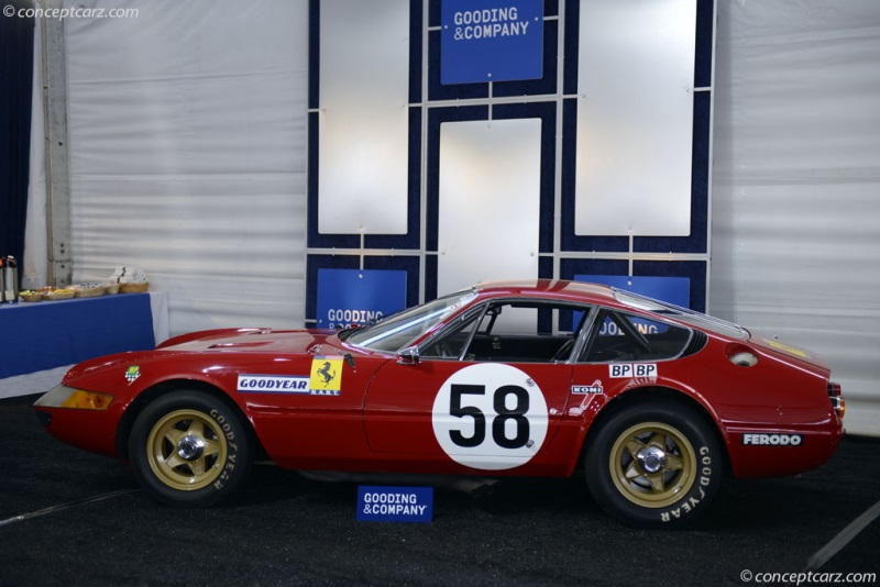 1969 Ferrari 365 Gtb 4c Competition Chassis 12467 Engine 251