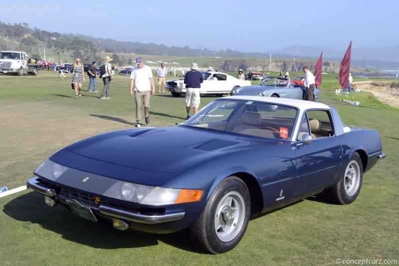 1969 Ferrari 365 Gtb  4 Chassis 12925
