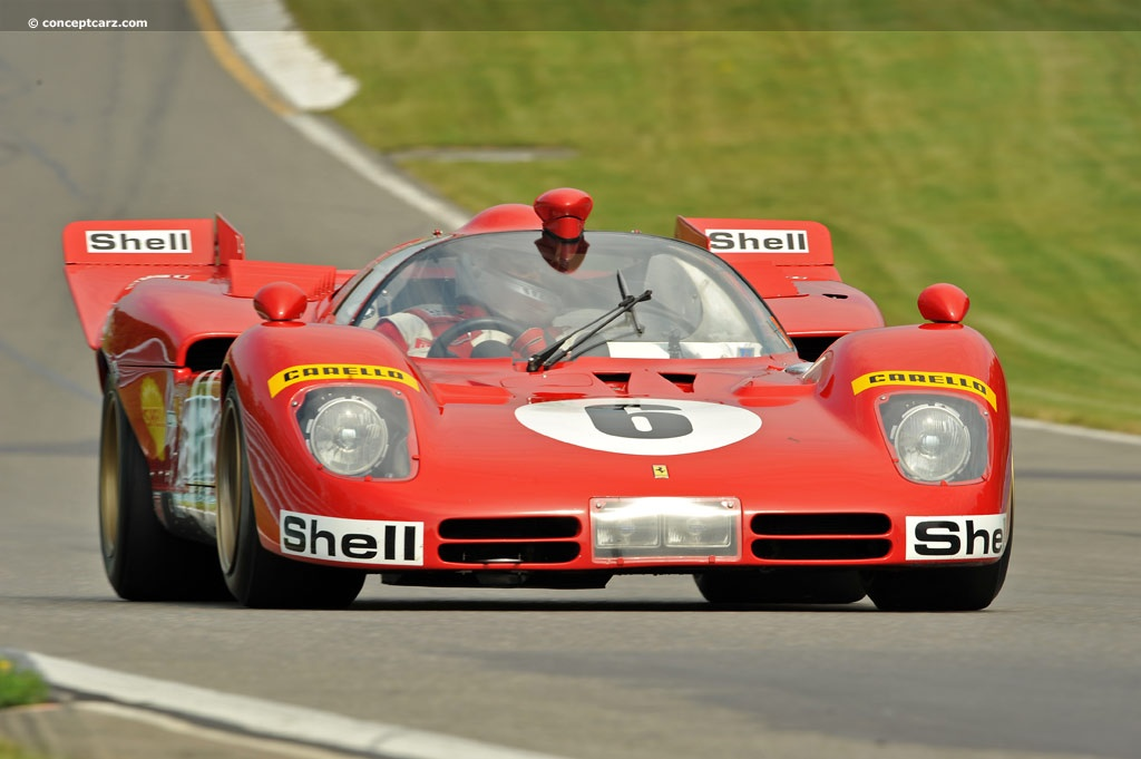 1970 Ferrari 512 S Image Chassis Number 1004