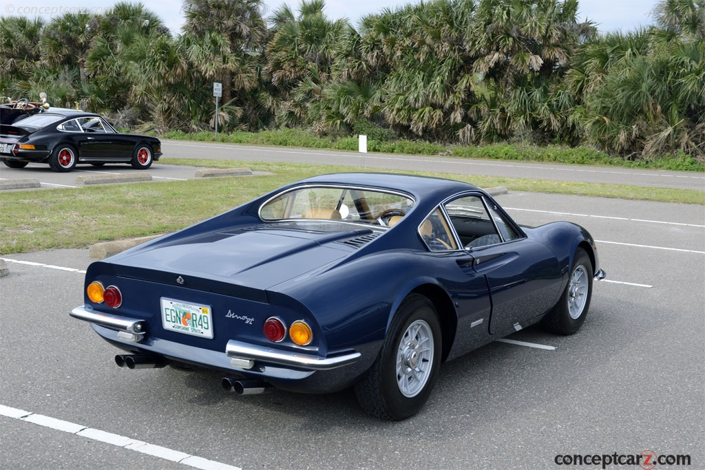 1970 Ferrari Dino 246 Gt Image Chassis Number 01016