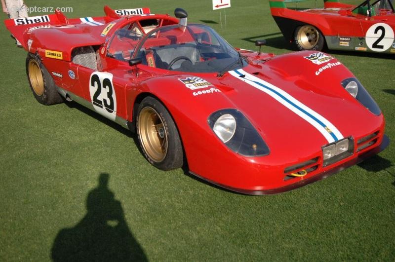 1970 Ferrari 512 S Chassis 1006