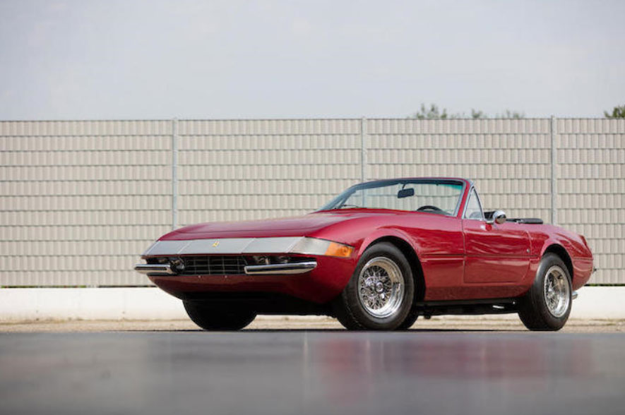 1971 Ferrari 365 Daytona.  Chassis number 14537