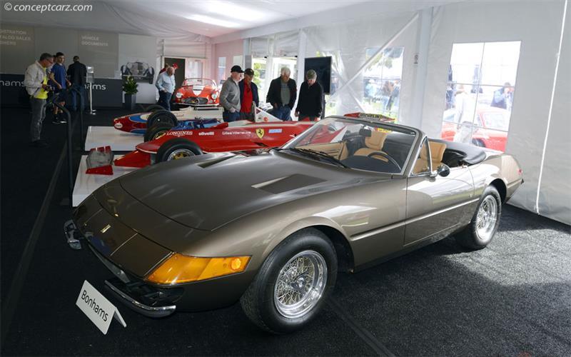 Chis 16573, engine B2506. 1972 Ferrari 365 GTS/4 chis information