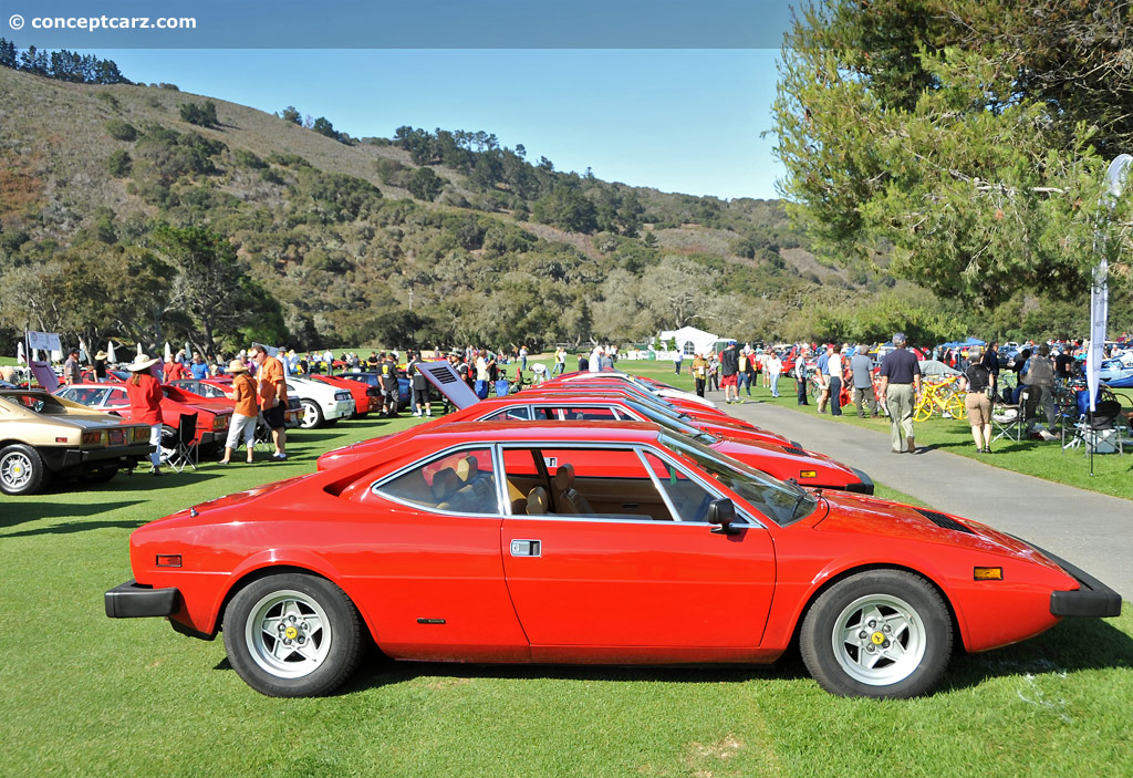 Auction Results and Sales Data for 1974 Ferrari Dino 308 GT4