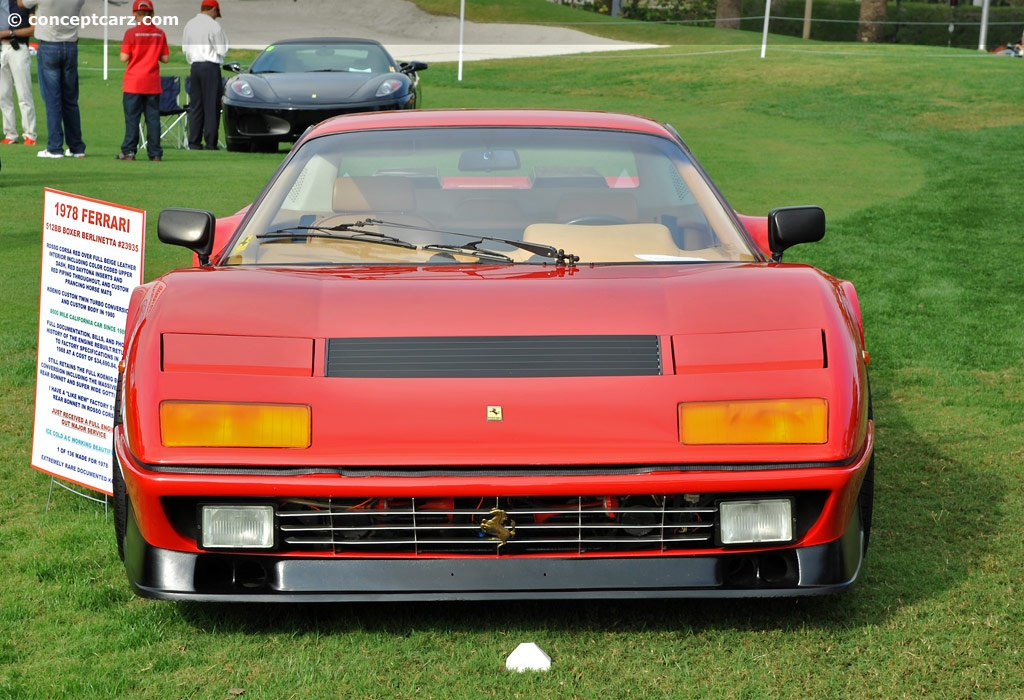 1978 ferrari 512 bb pictures history value research news. Black Bedroom Furniture Sets. Home Design Ideas