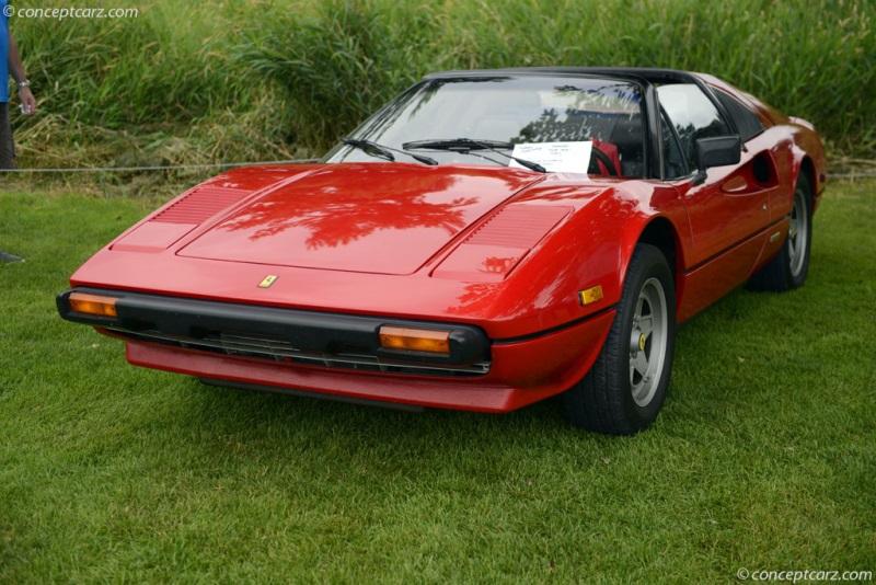 1981 Ferrari 308 chis information.