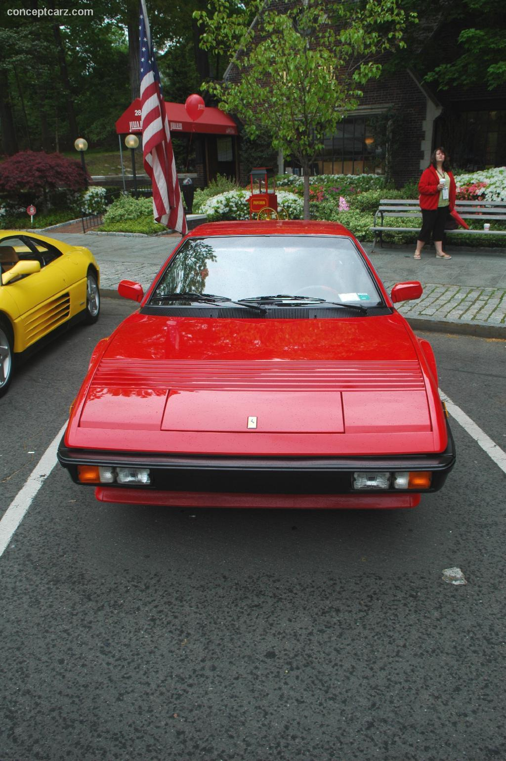 1982 ferrari mondial 8 at the scarsdale concours new york. Black Bedroom Furniture Sets. Home Design Ideas