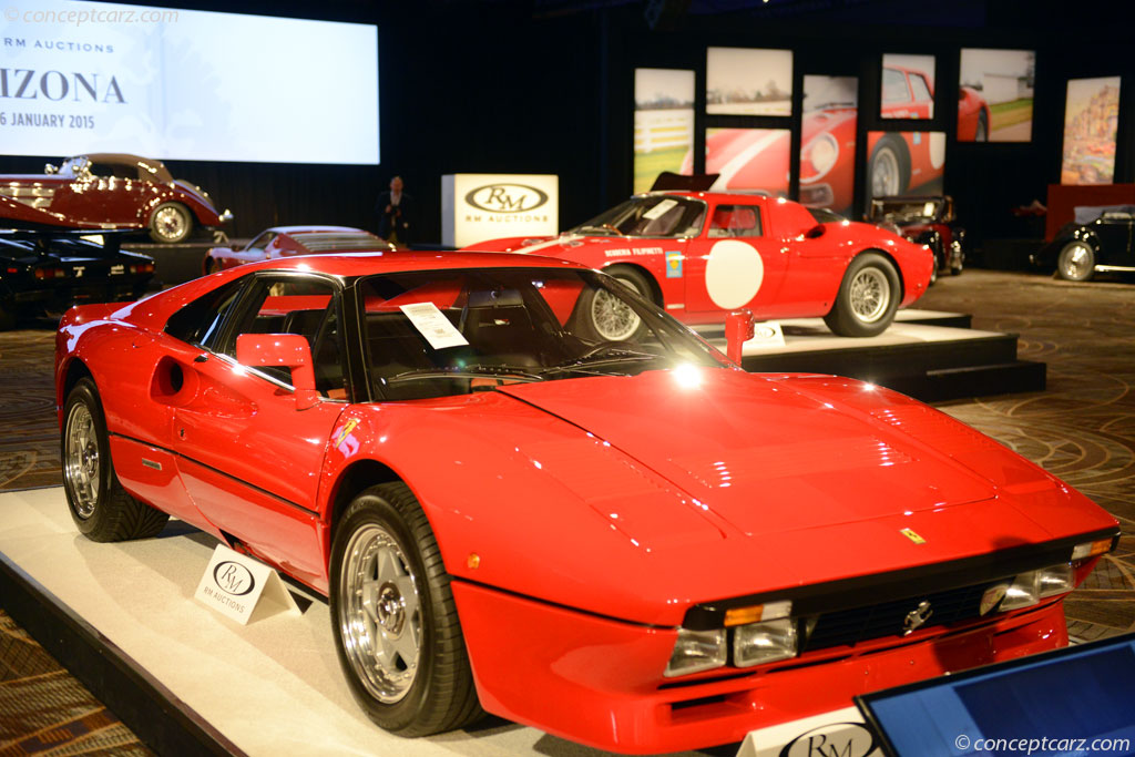 Auction Results And Sales Data For 1984 Ferrari 288 Gto