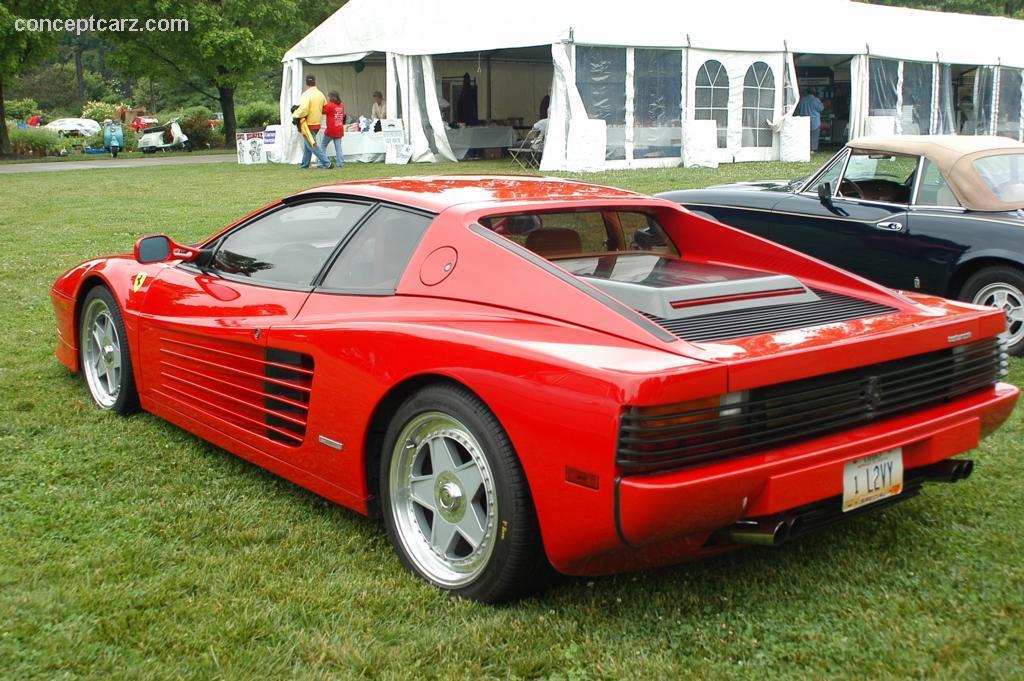 1986 Ferrari Testarossa Image Https Www Conceptcarz Com