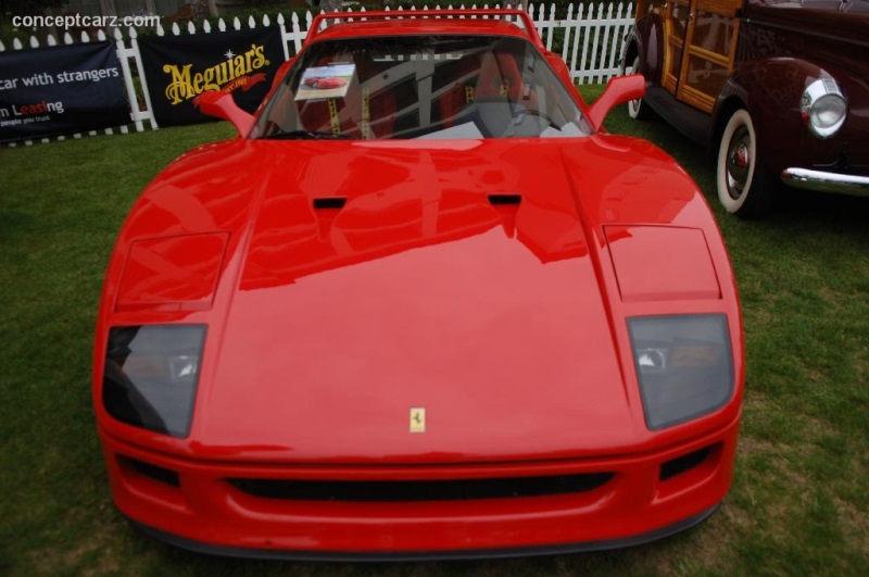 1987 Ferrari F40 History Pictures Value Auction Sales Research