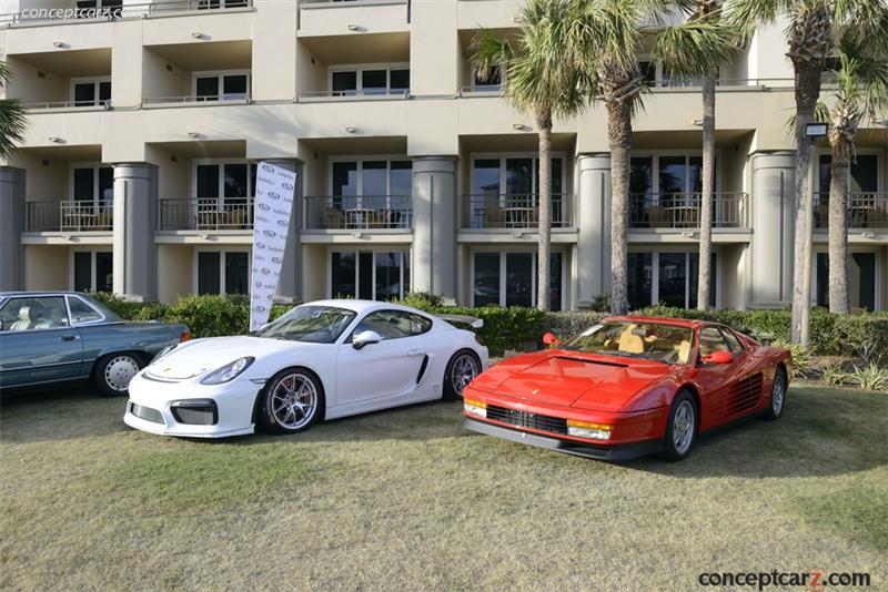 1988 Ferrari Testarossa Image Chassis Number Zffsg17a9j0078188