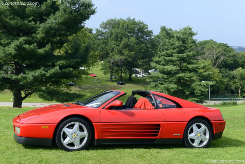 1989 Ferrari 348 Chassis Information