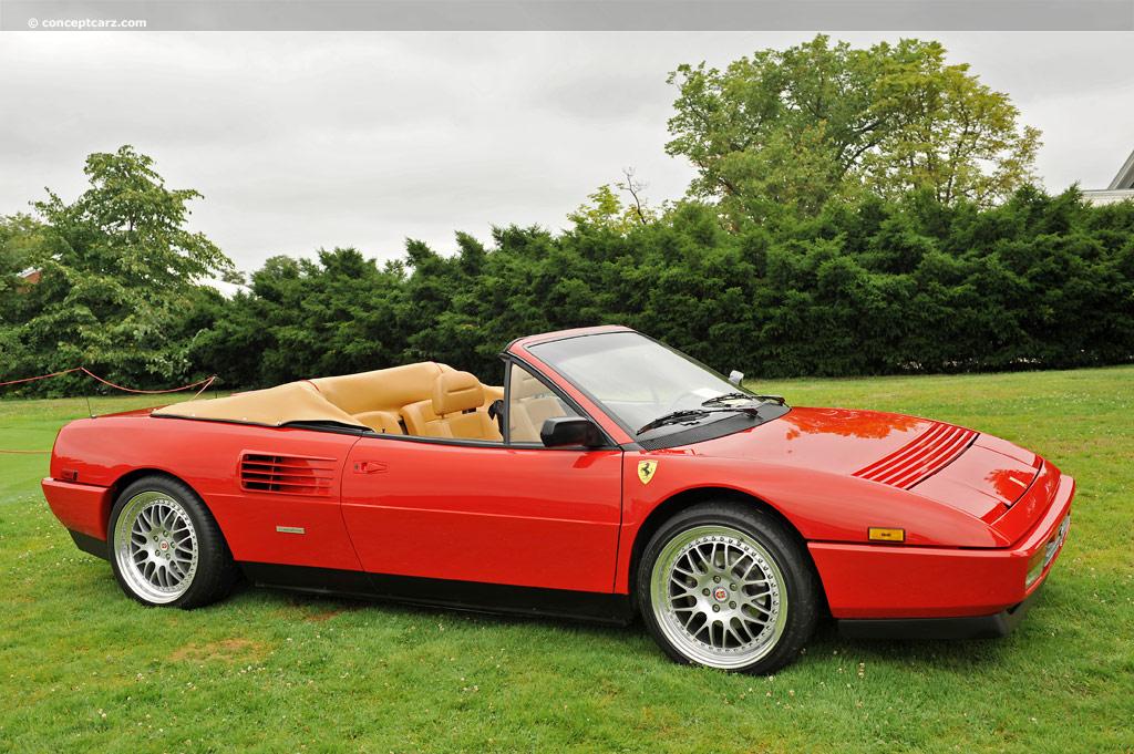 1990 Ferrari Mondial T Conceptcarz Com