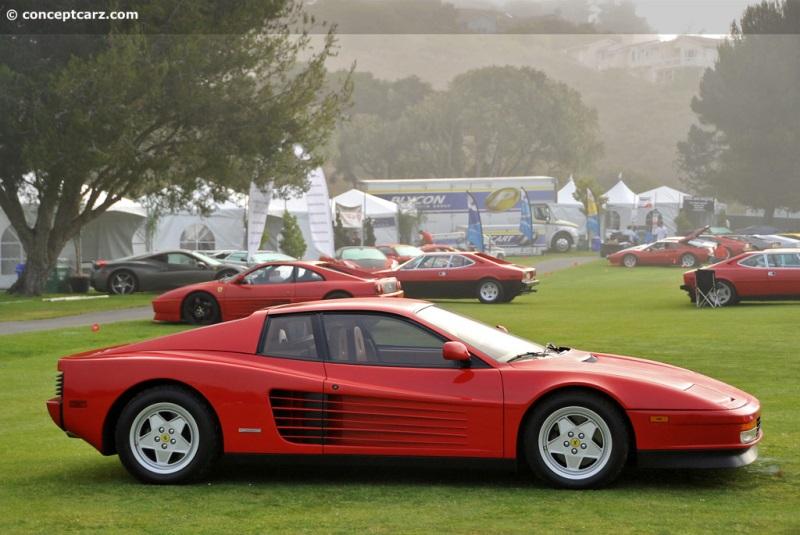 1990 Ferrari Testarossa History Pictures Value Auction Sales
