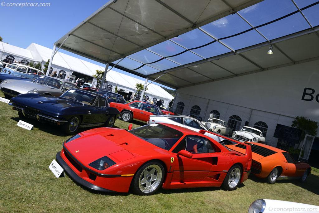 1990 Ferrari F40.  Chassis number ZFFMN34A5L0087200