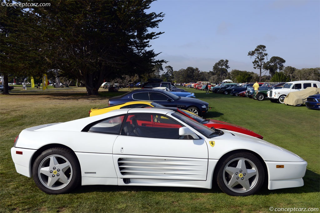 Auction Results And Sales Data For 1991 Ferrari 348