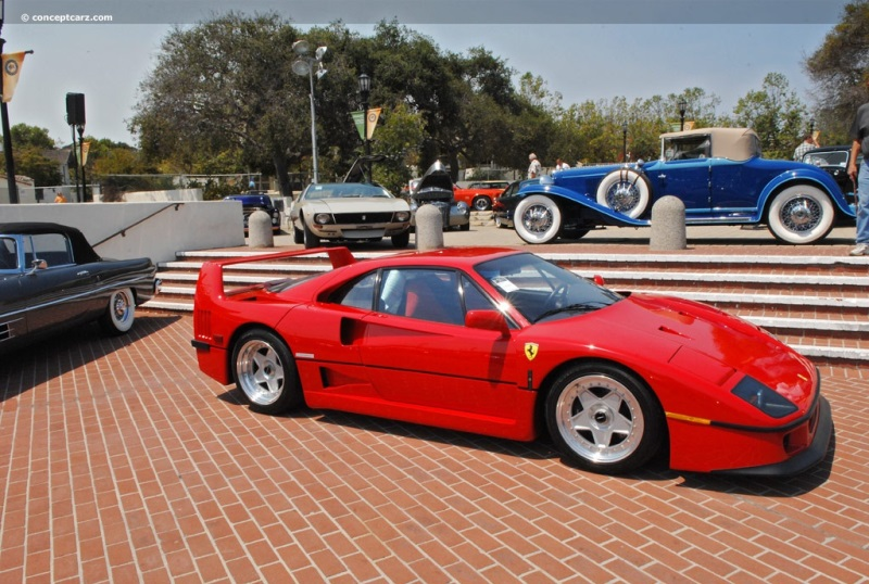 1991 Ferrari F40 Image. Chis number ZFFMN34A0M0089888. Photo 31 of