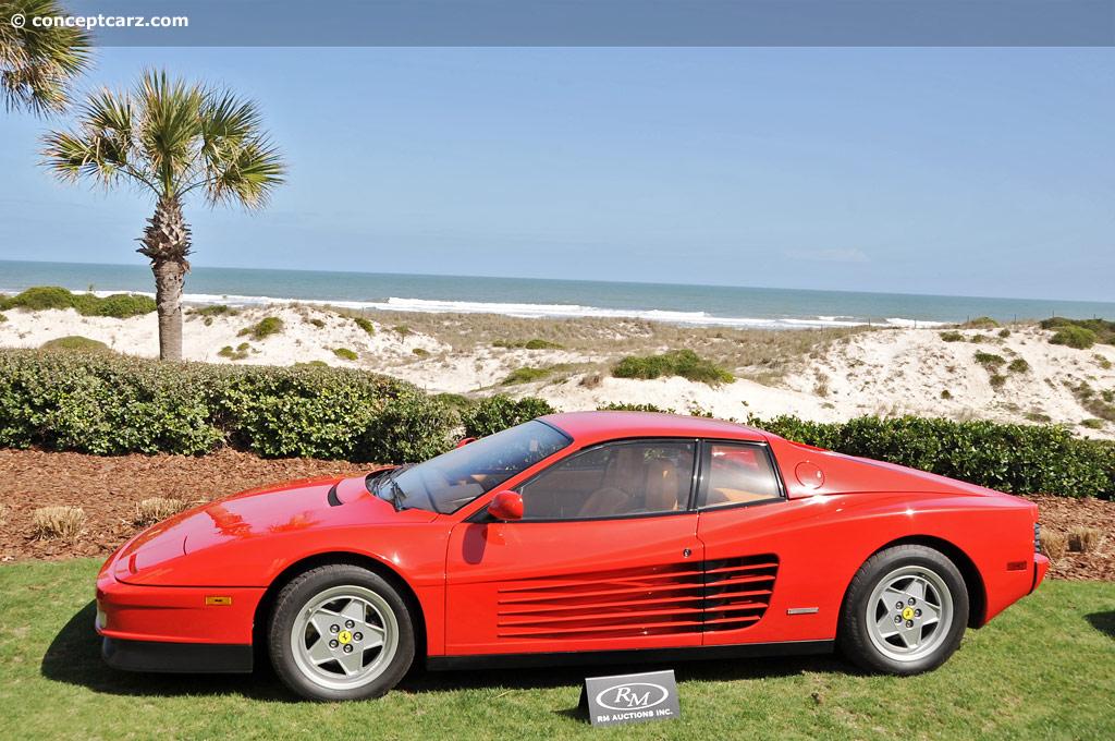 Auction Results and Sales Data for 1991 Ferrari Testarossa