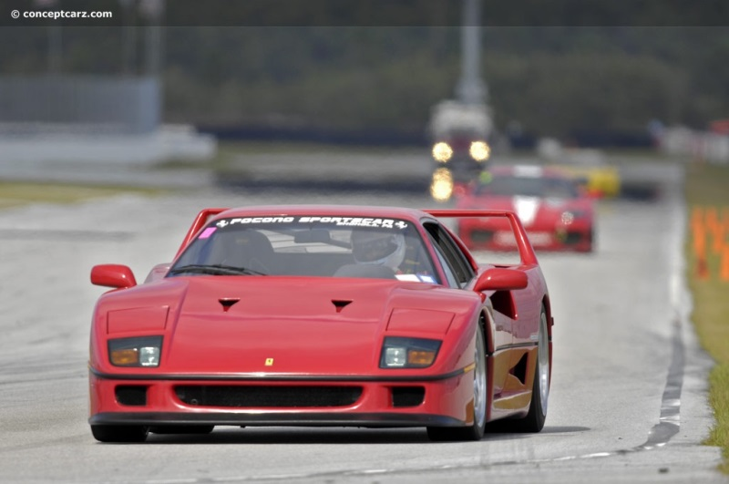 1992 Ferrari F40 Image Photo 28 Of 147