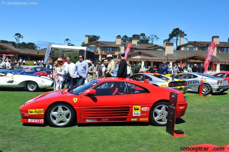 1992 Ferrari 348 Challenge Chassis Zffka35b000094984