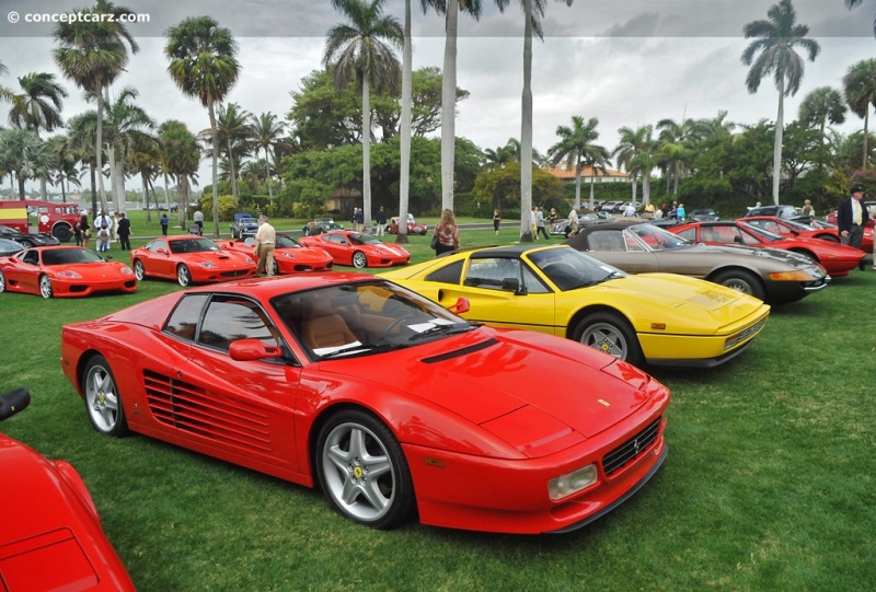 Chassis 95329 1993 Ferrari 512 Tr Chassis Information