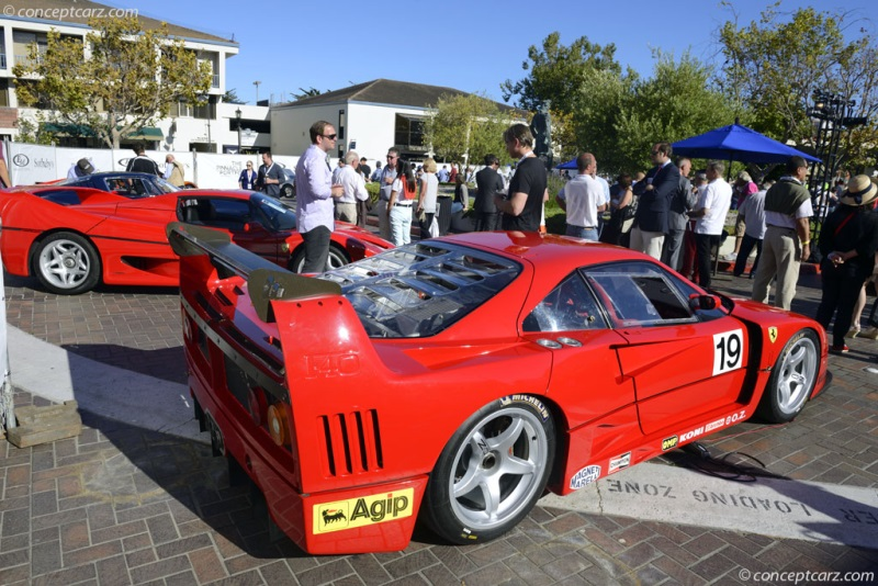 Chassis 97904, engine 019 1994 Ferrari F40LM chassis information
