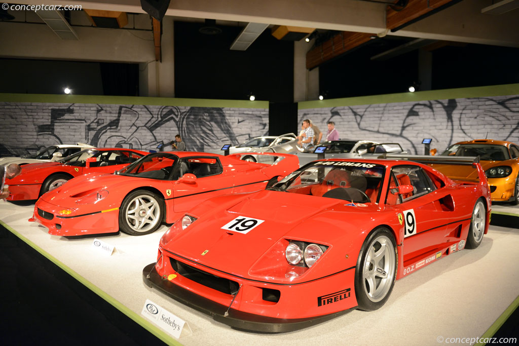 Auction Results and Sales Data for 1994 Ferrari F40LM