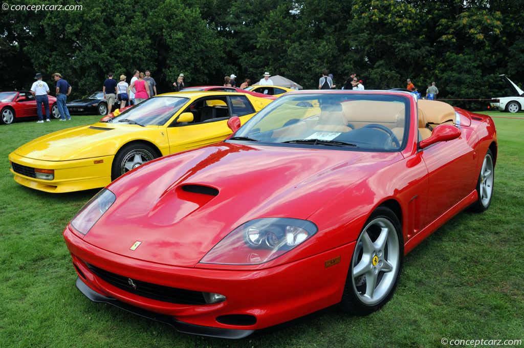 1999 Ferrari 550 Maranello History, Pictures, Value ...